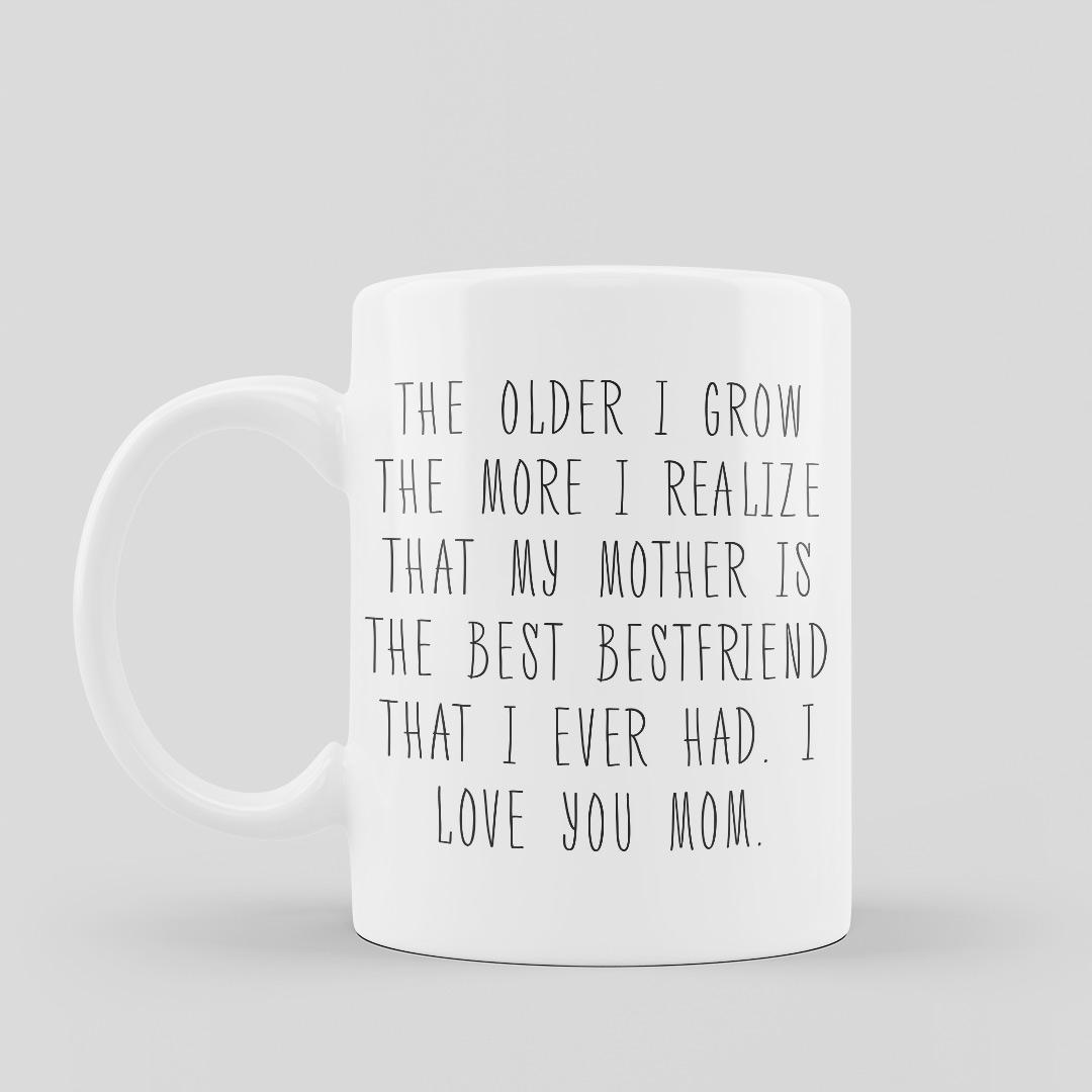 Mother Bestfriend Mugs