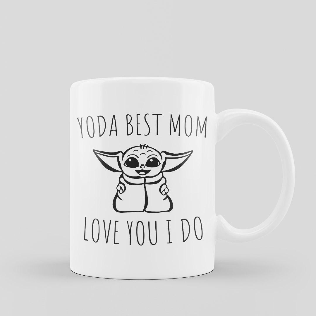 Mug Yoda Best Mom