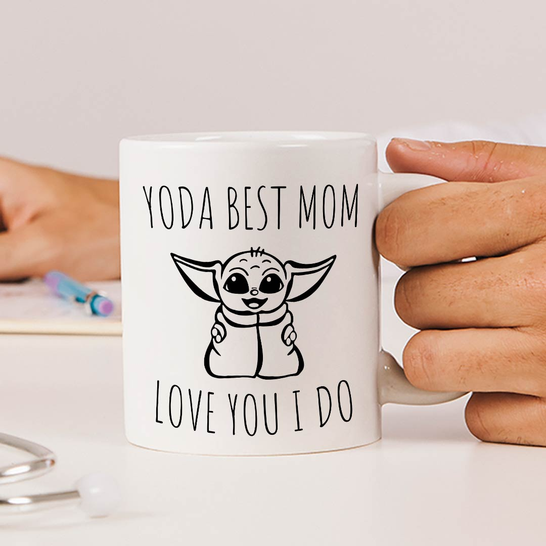 Yoda Best Mom Mug