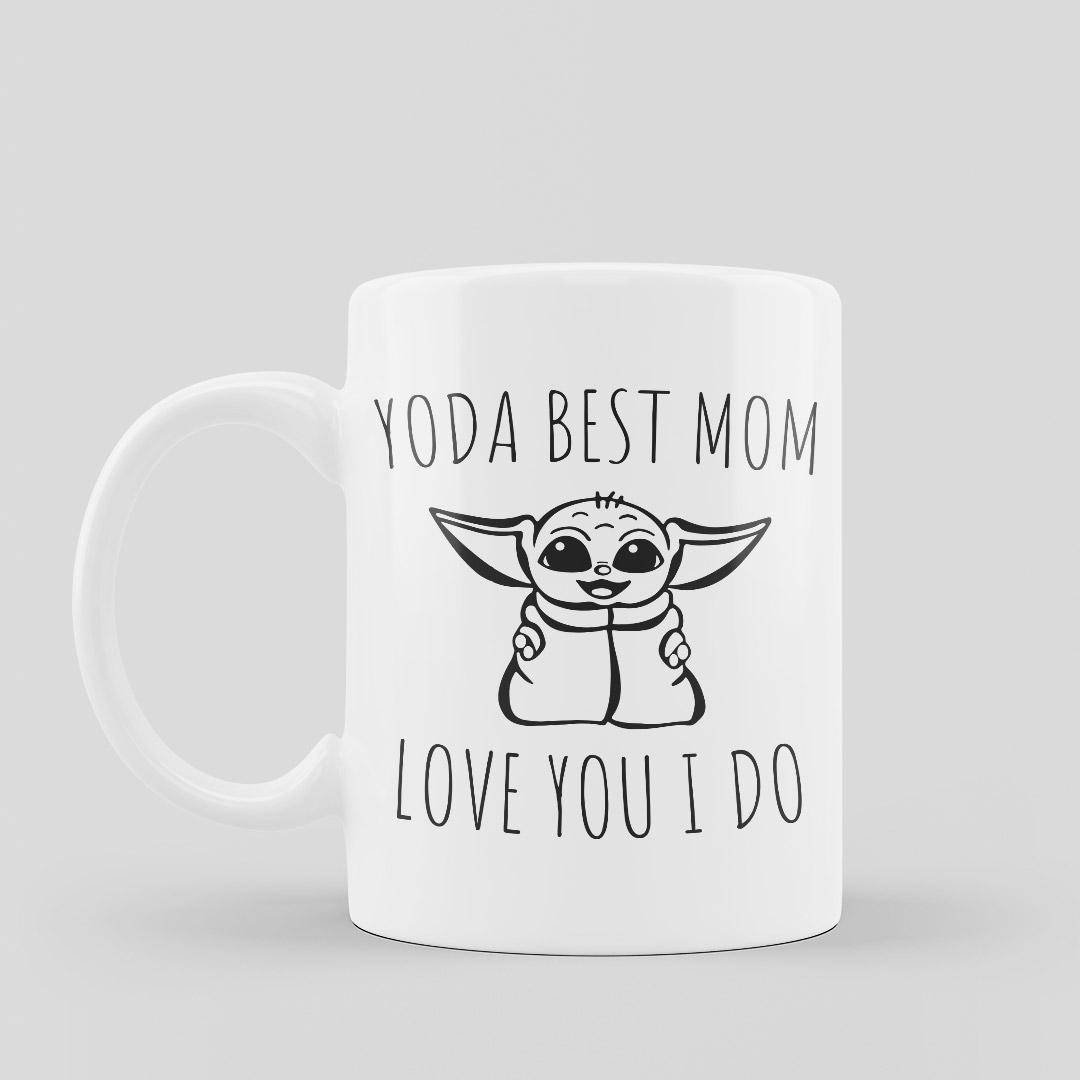 Yoda Best Mom Mugs