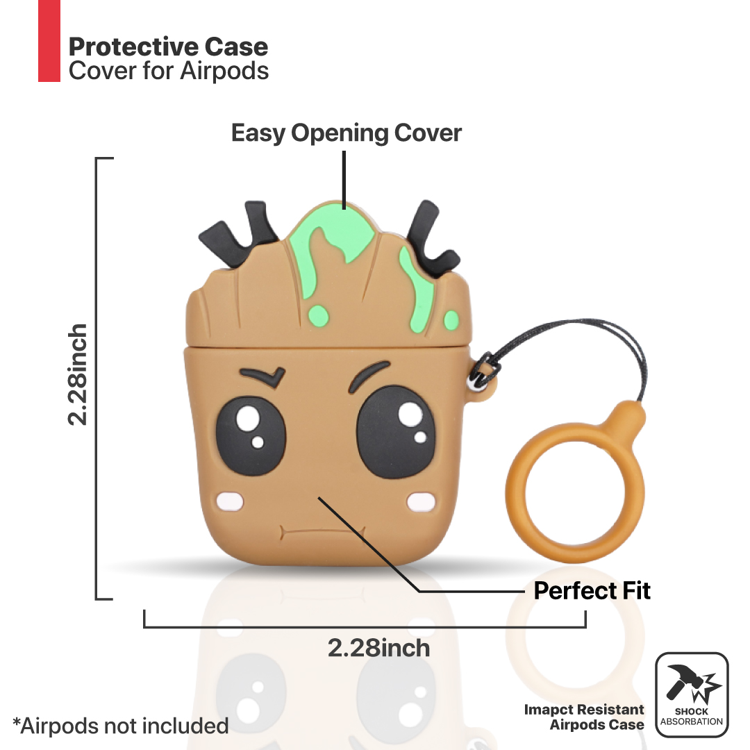 Marvel Groot airpods protective cover