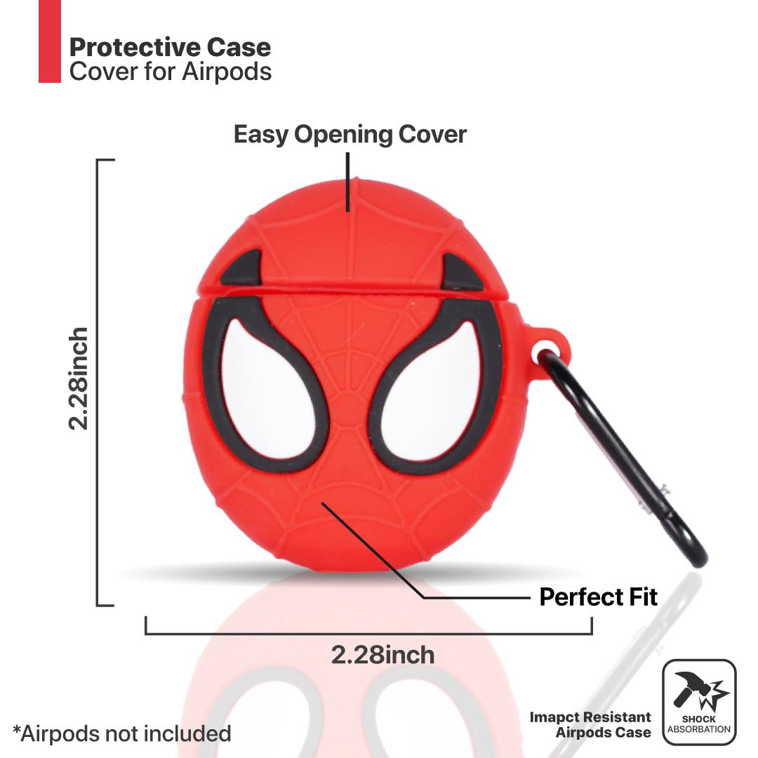 SpiderMan silicon Airpods case
