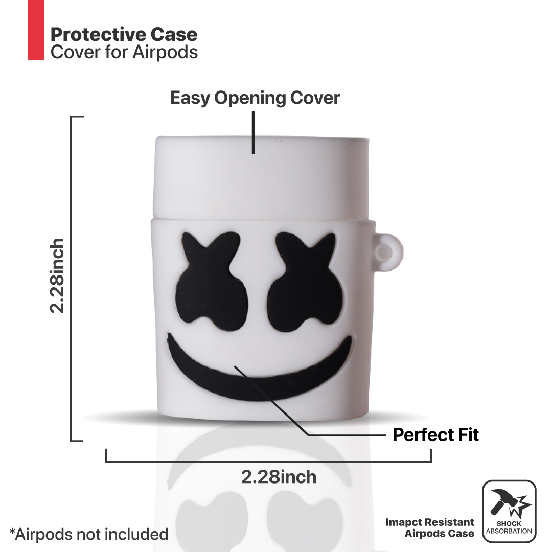 Popbox Marshmello silicon AirPods case