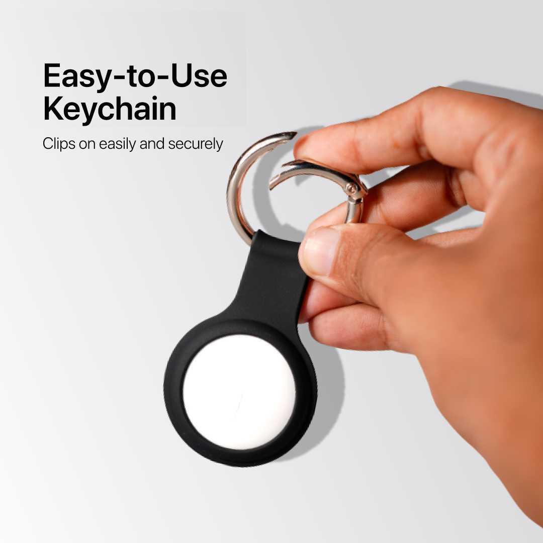 Black-Airtags-Case-Keychain